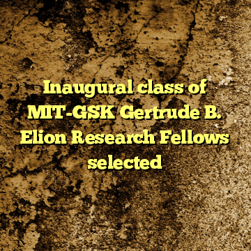 Inaugural class of MIT-GSK Gertrude B. Elion Research Fellows selected