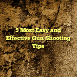 5 Most Easy and Effective Gun Shooting Tips